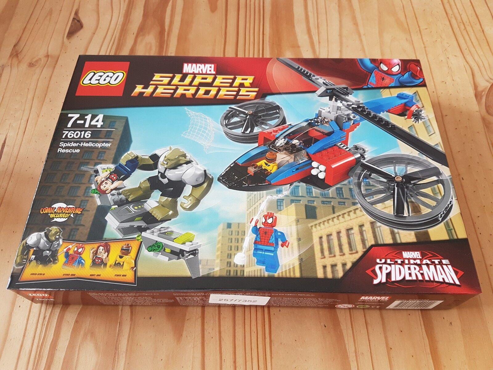 LEGO - Marvel Super Heroes Spider-Helicopter Rescue BNISB