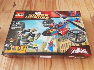 Lego - Marvel Super Heroes Sauvetage par hélicoptère Araignée Bnisb