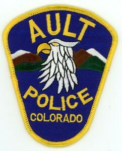 GOLDEN COLORADO CO POLICE COLORFUL PATCH STYLE #1 SHERIFF