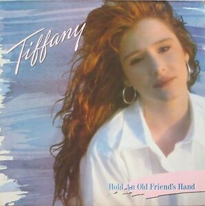 Tiffany-Hold-An-Old-Friend-039-s-Hand-MCA-Records-Vinyl-LP-OIS-UK-1988