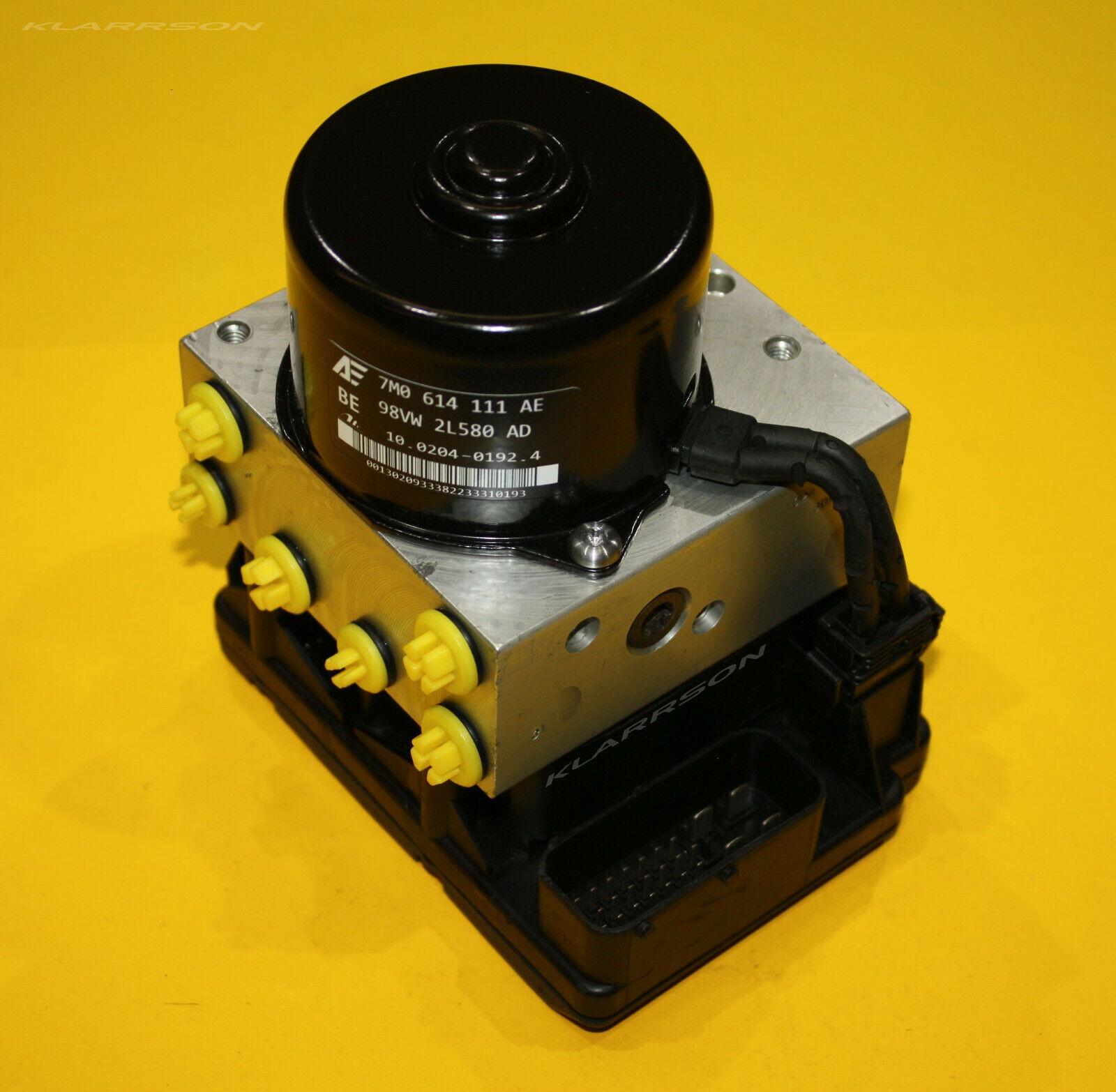⭐⭐⭐ ABS Steuergerät Hydraulikblock  7M3614111M 7M3907379E 7M3 907 379 E VW ⭐⭐⭐
