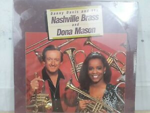 Danny Davis Nashville Brass & Dona Mason 1987 Jaroco JRLP-8741 COUNTRY