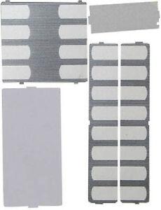 Nortel Norstar Phone Desi Plastic Overlay Plates Pack T7316 T7316E Charcoal NEW
