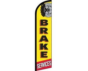 Warranty Yellow Black Windless Banner Advertising Marketing Flag