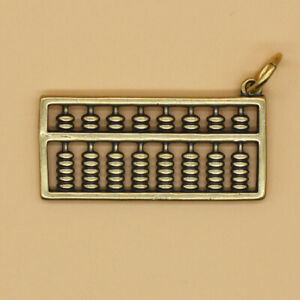 Brass-Chinese-Abacus-Keychains-Pendant-Keyrings-Key-Chain-Pendant-Gift