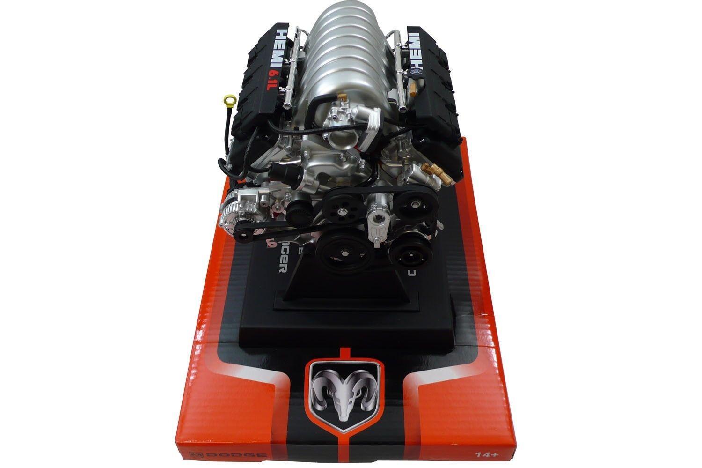 Dodge Challenger 6.1L SRT8 Model Engine - Diecast 1 6 Scale Motor Replica