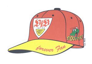 VfB-Stuttgart-Aufkleber-Cap-034-forever-Fan-034-Logo-Bundesliga-Fussball-123