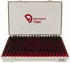 Vermont Gage Pin Plus Set 02510 05000 Black Guard 901100500 Class Zz New