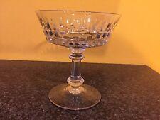 Coupe(s) à champagne en cristal Mod ESNEUX taillé. H:110 mm.Val Saint Lambert