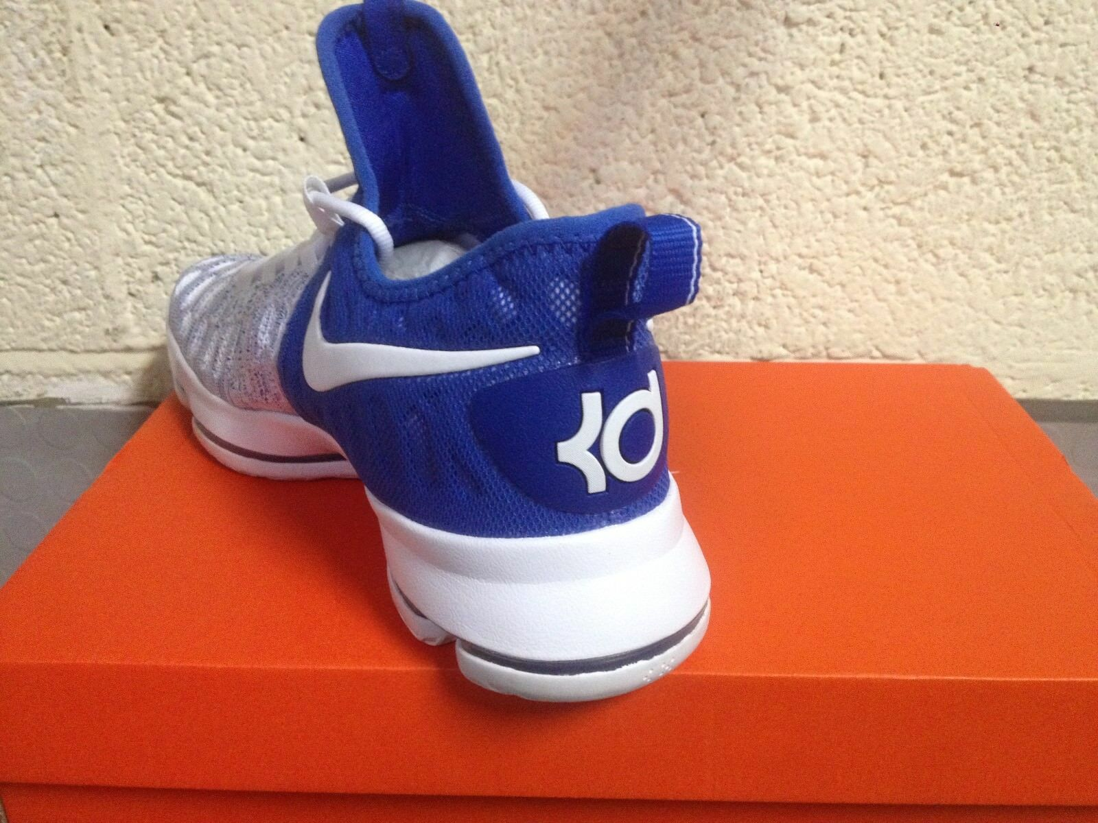 new products c55c7 2151a ... france scarpe shoes basket nike zoom kd 9 bianco kevin durant bianco 9  blu n.
