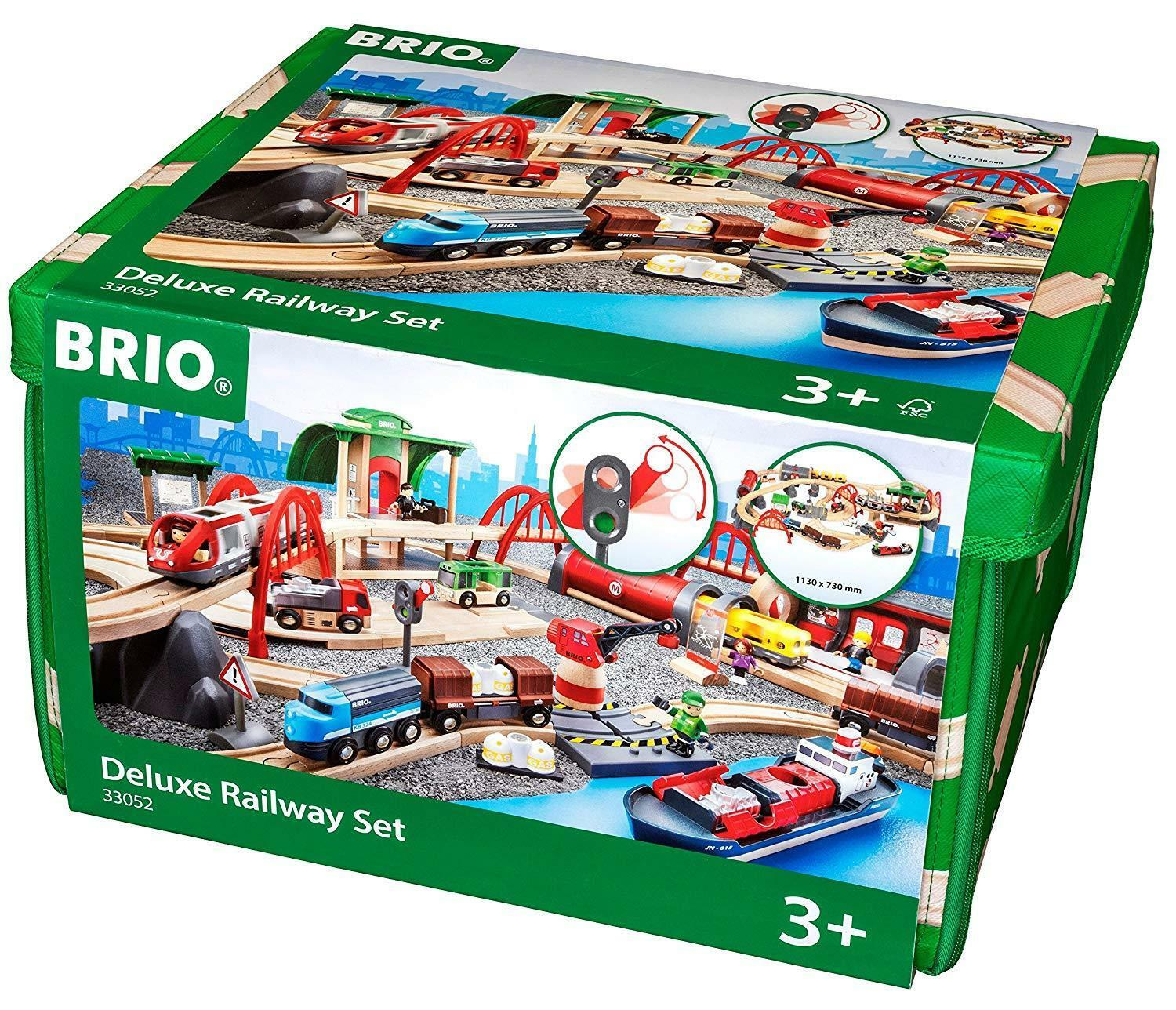 Brio mundo - lujoso Railway kit, multiColor
