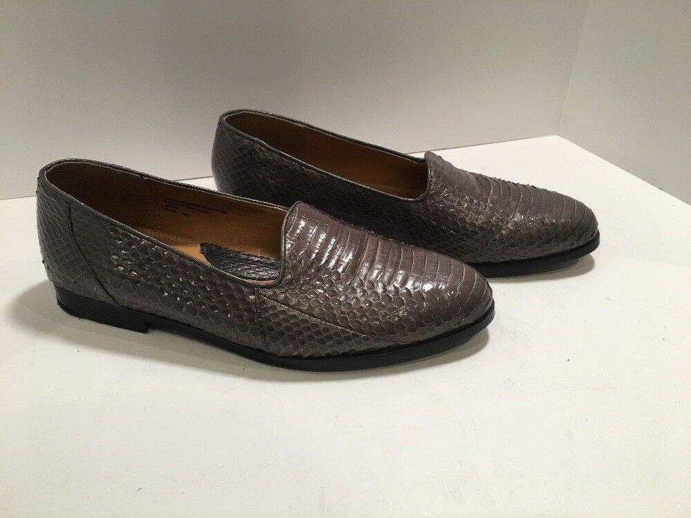 Giorgio Brutini shoes Sz 10 M Mens Loafers Private Collection Snake Leather