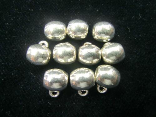 10 remolque trabillas Collier correa de color 8mm plata colgante Charms #243