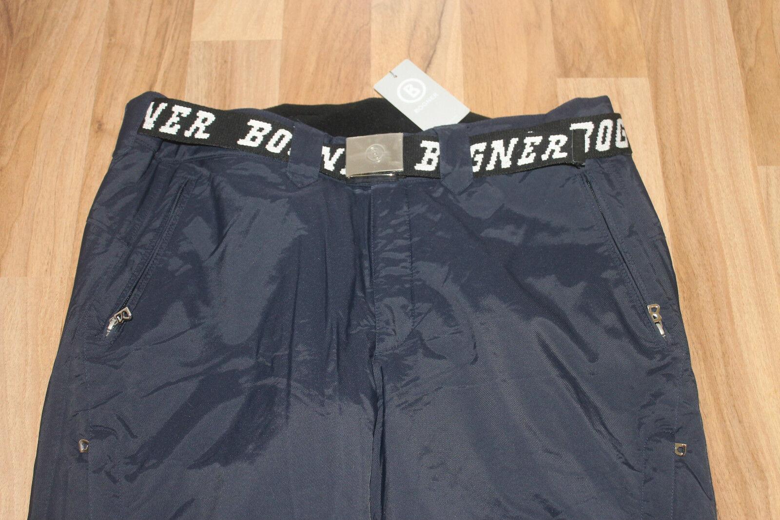 Bogner Uomo Sci Pantaloni Rik T Blu Navy Taglia XL, XXL o XXXL nuovo con etichetta