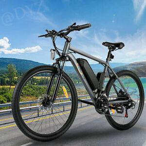 VIVI S2 250W Mountain Electric Bike 26'' 20Mph 8Ah Removable Lithium-Ion Battery
