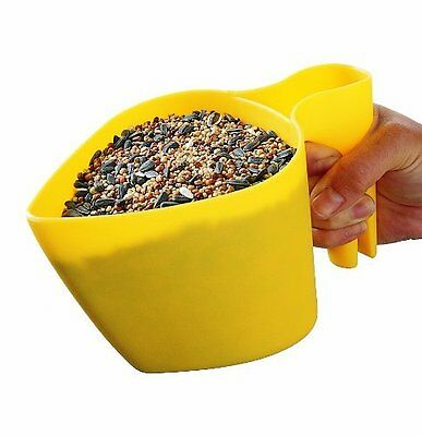 Perky-pet 300-12 Scoop'n Fill Bird Seed Scoop Om Tot De Eerste Te Behoren Onder Vergelijkbare Producten