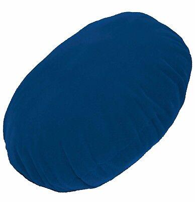mb100n Light Blue Plain Round Velvet Style Cushion Cover//Pillow Case Custom Siz