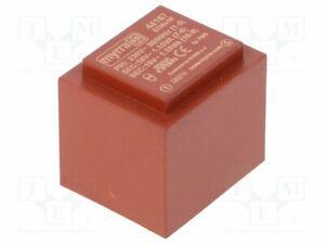 Transformador-Revestido-2-3VA-230VAC-18V-18V-64mA-64mA-44167-Pcb-Transformatore