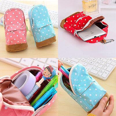 Mini School bag Pen Case Canvas Pencil Case Children Pen Bag For Students