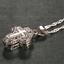 Locket-925-Silver-Magnet-Cross-Pendant-Chain-Necklace-Fashion-Women-Man-Jewelry thumbnail 1