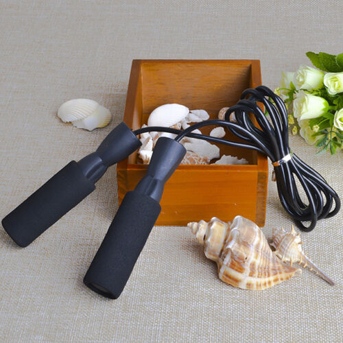 Speed Fitness Aerobic Jumping Exercise Boxing Skipping Sport Jump Skip Rope N7
