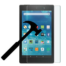 2017 New Amazon Kindle Fire HD 8 7th Gen Premium Tempered Glass Screen Protector