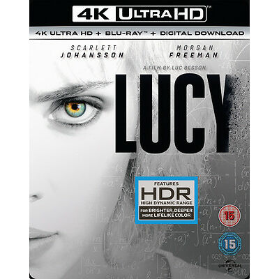 Lucy (4K Ultra HD + Blu-ray + Digital Download (Red Tag)) [UHD]