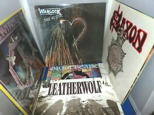 Heavy-Metal-Vinyl-Album-Lot