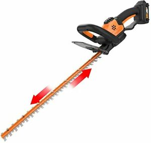 "WORX WG261 20V Powershare Cordlesss 22"" Hedge Trimmer"
