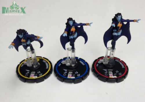 #035 #036 R//E//V figs! Umbra #034 Heroclix Collateral Damage set Shadow Lass
