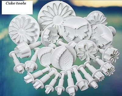 You pick! Fondant Cake Plunger Cutter Mold Sugar craft Tools for Xmas Party DIY