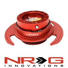 NRG 3.0 Gen Steering Wheel Quick Release Hub - Red / Red Ring | SRK-650RD