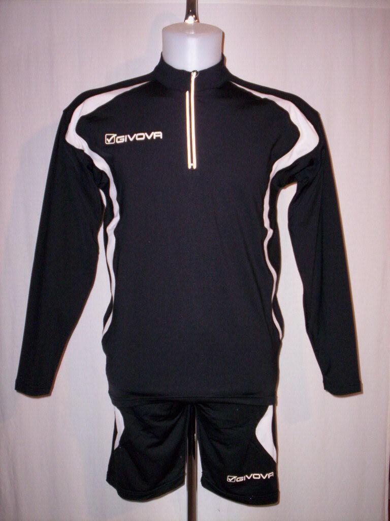 Fußball Futsal Set Futsal Givova Herren Training Trikot shorts Hosen m