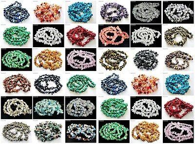 Natural Gemstone 8-12mm Healing Nugget Spacer Beads 35'' For Necklace Bracelet