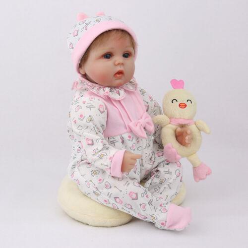 "16/""Reborn Baby Dolls Newborn Lifelike Vinyl Silicone Toddler Gift Handmade Toys"