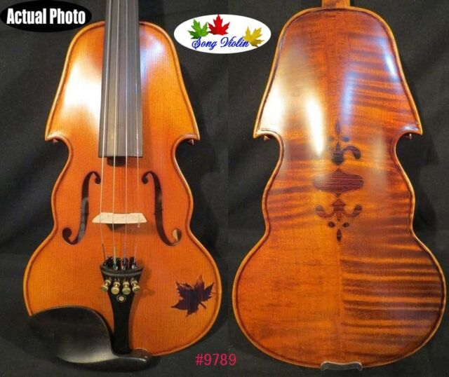 Baroque style SONG Brand Maestro inlaid rosewood 4/4 violin #9789