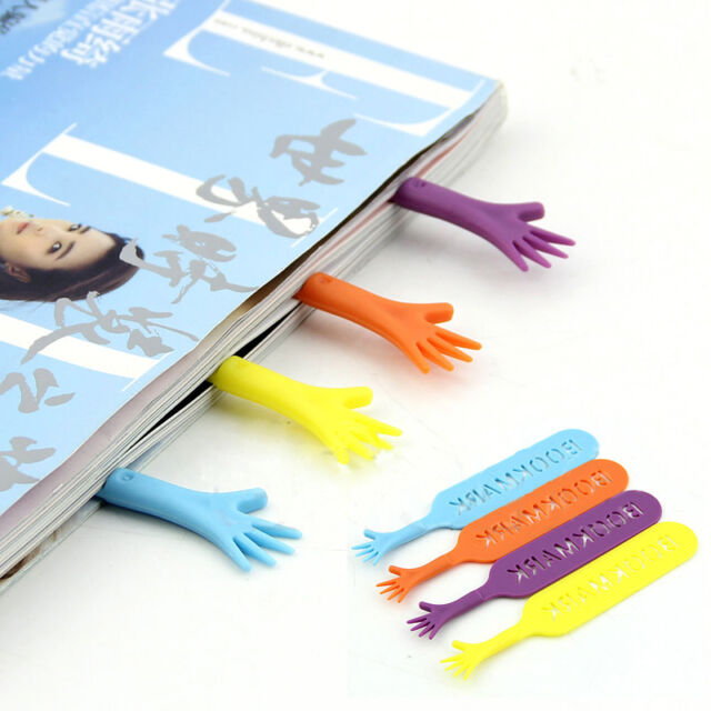 4pcs Funny Help Me Bookmarks Pad Note Stationery Novelty Book Mark