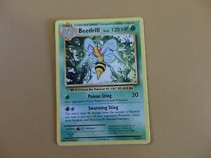Beedrill-Rare-Pokemon-XY12-Evolutions-7-108-Lot-1