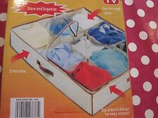 Vestiti salvaspazio organizer/storage con le sezioni Nuovo di zecca nella scatola originale