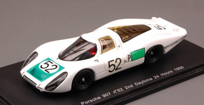 marca Porsche 908  52 2Nd Daytona 1968 1968 1968 Siffert-Herruomon-Mitter 1 43 Spark S2985  le migliori marche vendono a buon mercato