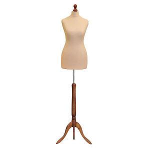 La Fourniture ❤ Taille 8/10 Femme Tailleur Couturière Mannequin Buste Fashion Mannequin De Vente Au Détail-afficher Le Titre D'origine TrèS Poli