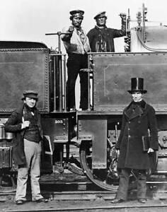 OLD-TRAIN-PHOTO-Mr-J-Widdowson-a-pay-clerk-for-the-London-North-Western-Railway