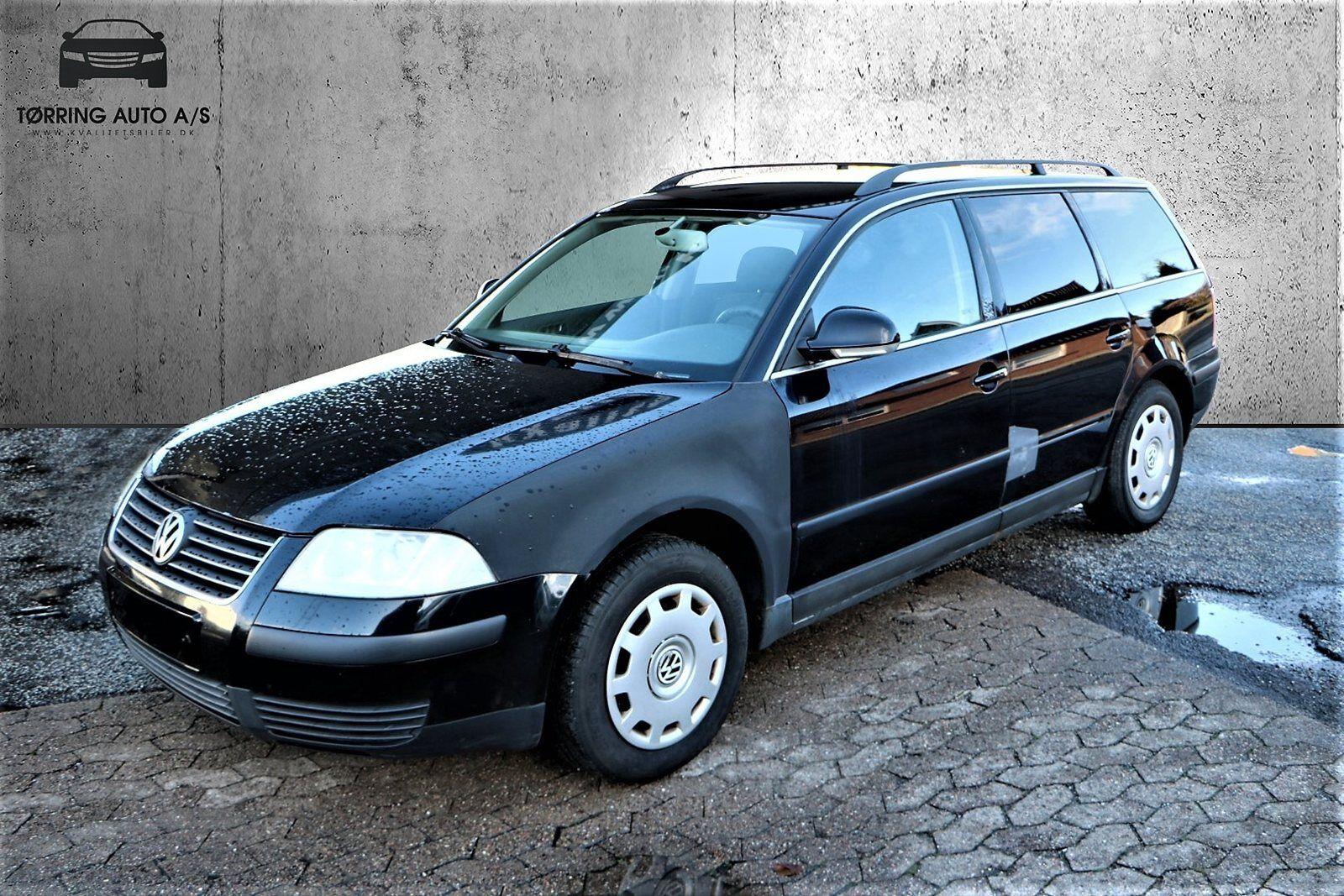 VW Passat 1,9 TDi 100 Trendline Variant 5d - 12.900 kr.