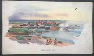 Vintage-Postcard-Jamestown-1632-D39