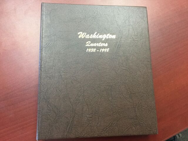 NEW!!! Dansco Coin Album # 7140 For Washington Quarters From 1932-1998