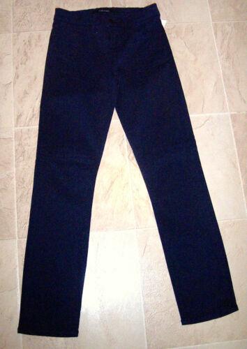 178 Sateen Rail Ny Slank Capri Crop Jeans Bright Lige Navy J 8312 25 Brand RrY8qwYd