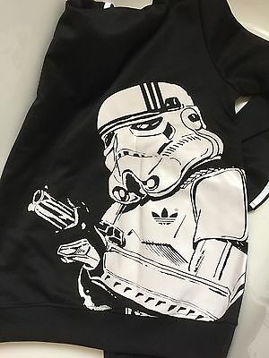 Adidas Originals Star Wars Stormtrooper Track Top Sweat à capuche Veste Taille M M | eBay
