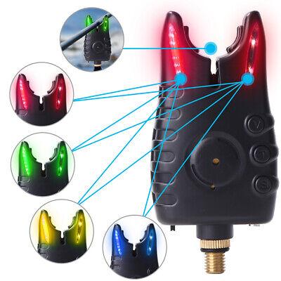 LED Fishing Bite Alarm Indicator Adjustable Tone Volume Carp Fishing Tackle