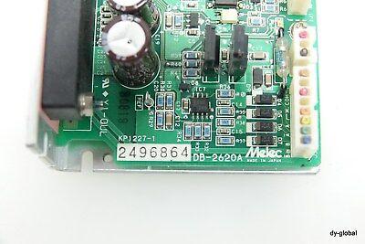 MELEC Stepping Driver Controller DB-2620A 2496864 DRV-I-1093=7C31