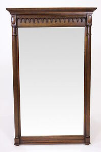 Willett Furniture Company 1961 Wall Mount Mirror Solid Cherry Frame  Sherrington